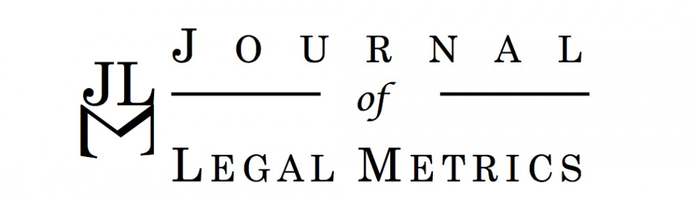 Journal of Legal Metrics